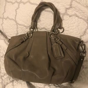 Coach leather satchel